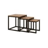 Набор столиков STARK 2 массив дуба