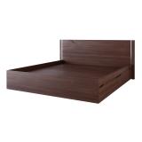 Кровать 184.5х205.7 с ящиками для белья СМКР-1 1800